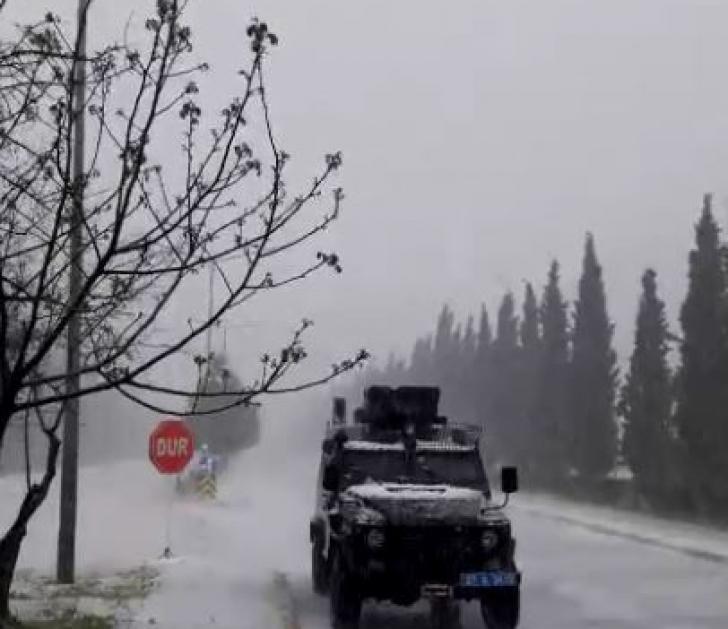 Gaziantep'te beklenen kuvvetli dolu yağışı