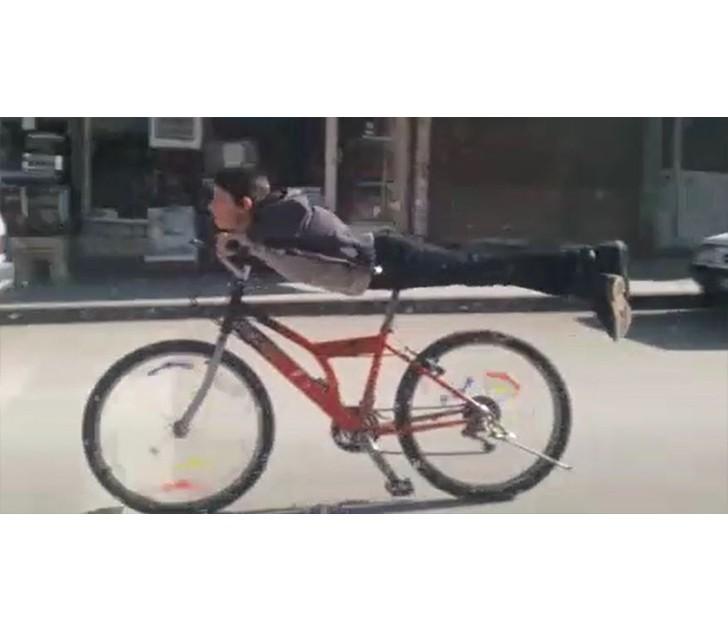 Tehlikeli bisiklet yolculuğu korkuttu